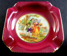 Vintage Miniature Ash Tray CICO CHINA Made in Germany US Zone (C17)
