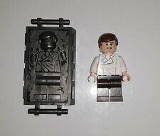 Lego Star Wars Minifigura Han Solo & han en carbonita Minifig de Set 75137