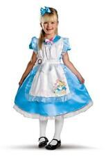 Disney Alice in Wonderland Deluxe Child Costume Medium 7-8 - 11384
