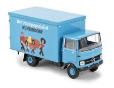 Brekina 48566 - 1/87 Mercedes-Benz LP 608 Valise-Kunzendorf-Neuf