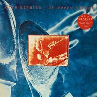 """DIRE STRAITS On Every Street 1991 (Vinyl LP) WITH 12"""" SINGLE RECORD"""