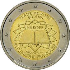 FRANCIA 2 EUROS 2007 - CONM. TRATADO DE ROMA