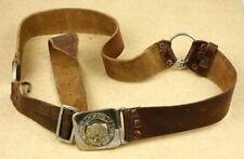 Greece Girl Scout Vintage Leather Belt