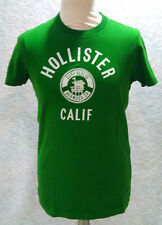 T-shirt verde HOLLISTER Small S 100% cotone