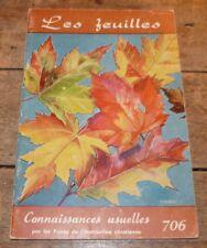 Soft Cover French Book Connaissances Usuelles Frères de L'instruction Chrétienne