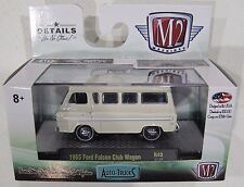 M2 MACHINES AUTO TRUCKS R42 1965 FORD FALCON CLUB WAGON 17-29