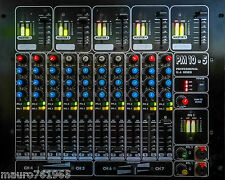 Mixer Audio DJ Professional PM 10-5 10 canali IN stereo e 5 OUT master Mix 2 PFL