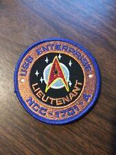 NCC-1701-A USS Enterprise Lieutenant Small Patch
