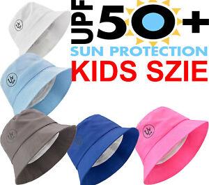 Sun Hat Babies Boy Girl Toddler Bush Bucket Summer Children Kids Anti-UV 50+
