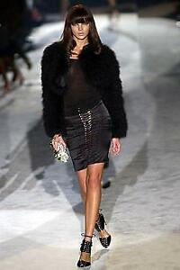 Gucci by Tom Ford Crystal Embellished Skirt