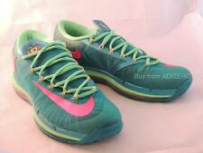 Nike KD 6 IV Elite Turbo Green/ Pink Superhero Men's 11 US 642838 300 New