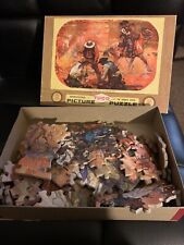 """Vintage Tuco Picture Puzzle ~ Tv Series 2908 """"men Of The Far West"""""""