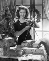 OLD CBS RADIO TV PHOTO Shirley Temple in the radio program Time for Elgin 2