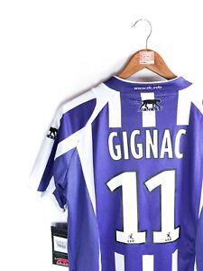 Maillot Foot Vintage TFC Gignac Rare Ligue 1 Rétro Ancien Football Shirt Maglia