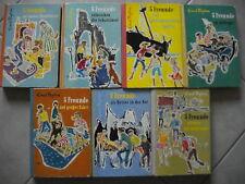 Enid Blyton Fünf (5) Freunde uralte 7er Sammlung aus den 60er Jahren!