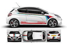 Peugeot 208 GTI DECALS SET 1