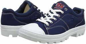 Skechers Women's Roadies-True Roots Sneaker, Navy, Size 9.0 cZcX