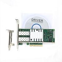 Intel X520-DA2 10 Gigabit 10GBe SFP+ Dual Port Ethernet Server Network Adapter