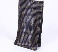 Paisley Print Cravat Silk Scarf Men Foulard Satin Scarves Soft Bandana Pattern