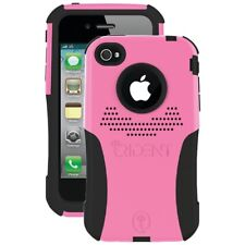 NEW Trident Apple iPhone 4S/4 Aegis Pink Case Hybrid Dual Layer Hard Cover