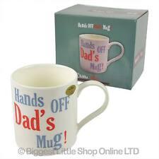 NEUF mains arrêt Dad's tasse fin chinois cadeau emballé fête des pères