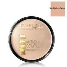 Eveline Cosmetics Anti Shine Complex Pressed Powder 34 Medium Beige Shade