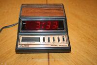 Spartus Digital Alarm Clock (Model No. 1104)
