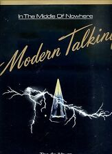 MODERN TALKING in the middle of nowhere PORTUGAL EX LP 1986
