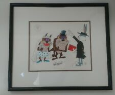 Taz Wedding with Bugs Bunny Limited Edition Animation Art Cel