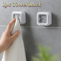New Wall Mounted Self Adhesive Cloth Tea Towel Rack Napkin Push Holder Kitchen