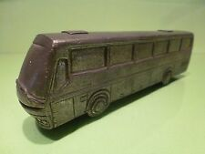 VINTAGE METAL AUTOBUS COACH - SILVER COLOR L19.5cm - GOOD CONDITION