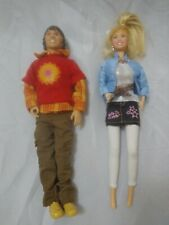 NEW Disney HANNAH MONTANA Fab Friends Barbie Dolls Miley Oliver 2 Doll LoT