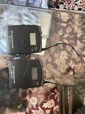 Sennheiser EK100 G2  ENG Wireless Mic Receiver Transmitter A 518-554 EW100