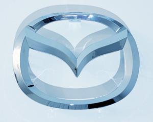 Mazda 2 3 4 5 6 MazdaSpeed Front Grille Emblem US Shipping!