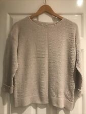 FAT FACE Waffle Cotton Jumper - Size 12/14