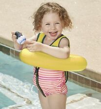 New SwimSchool Deluxe TOT Swim Trainer Vest and Inflatable Tube Fast Shipping