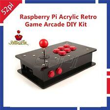 Raspberry Pi 3 Model B Case 16G One Player Joystick Arcade Game Console DIY Kit