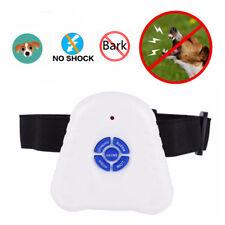 Ultrasonic Anti Barking Bark Dog Collar Safe Training Control Collar, No shock