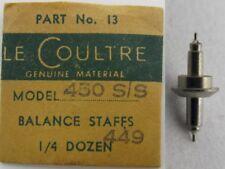 part staff balance #723 LeCoultre 449 & 450 s/s