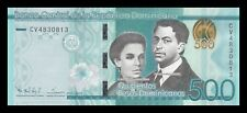 REPUBLICA DOMINICANA DOMINICAN REPUBLIC 500 PESOS 2015. PICK 192. SC. UNC.