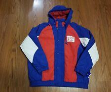 NWT NEW YORK GIANTS HOODED STARTER Jacket Size large
