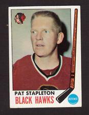 Pat Stapleton Chicago Blackhawks 1969-70 Topps Hockey Card #69 EX/MT- NM
