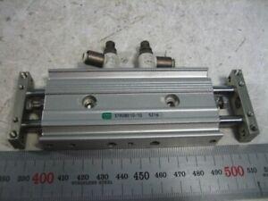 [Used] CKD / STR2BD10-10 / Rodless cylinder, Length 10mm, Fitting 4mm, 1pcs