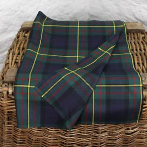 MacLaren Scottish Tartan - Fat Quarter (75CM x 50CM) - Fine 100% Wool