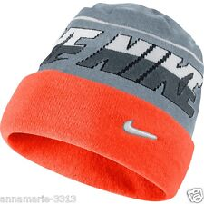 Nike Boy's Cuffed Cold Weather Winter Snowboarding Skiing Beanie Hat NEW TAG