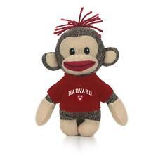 "Plushland 6"" Sockie Stuffed Animals Gifts Harvard Unversity Harvard Crimson"