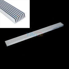 Aluminum Heat Sink Cooling for LED Power IC PC Heatsink Cooler 300x25x10mm Hot