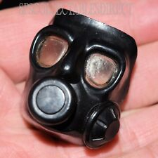 Action Man VAM Palitoy SAS Black Gas Mask c1984 1/6th Scale VGC
