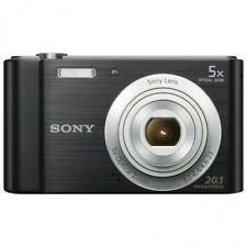 Camara fotografica digital Sony DSCW800B 20,1 megapixeles 6X HD VIDEO Negra