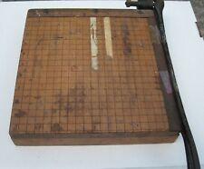 Vintage Early 1900's Ingento #3 Paper Cutter- Ideal School Supply Co, Chicago IL